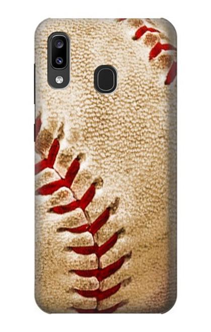 S0064 野球 ベースボール Baseball Samsung Galaxy A20, Galaxy A30 バックケース、フリップケース・カバー