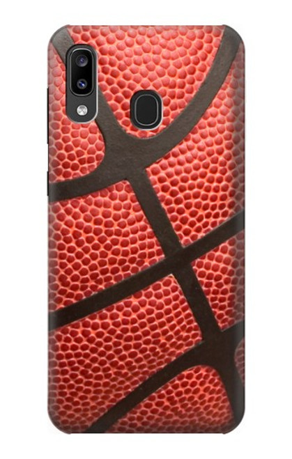 S0065 バスケットボール Basketball Samsung Galaxy A20, Galaxy A30 バックケース、フリップケース・カバー