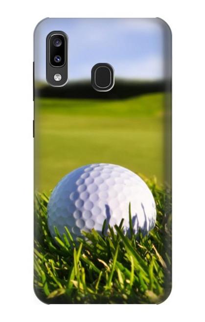 S0068 ゴルフ Golf Samsung Galaxy A20, Galaxy A30 バックケース、フリップケース・カバー