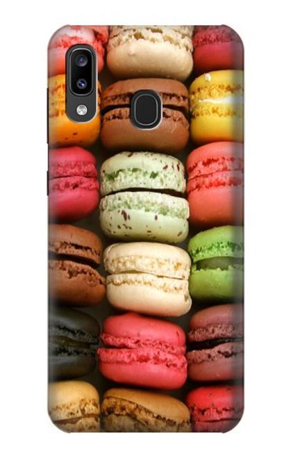 S0080 マカロン Macarons Samsung Galaxy A20, Galaxy A30 バックケース、フリップケース・カバー