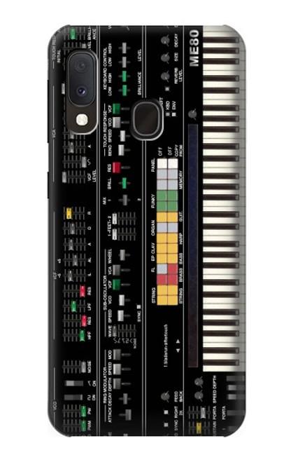 S0061 シンセサイザー Synthesizer Samsung Galaxy A20e バックケース、フリップケース・カバー