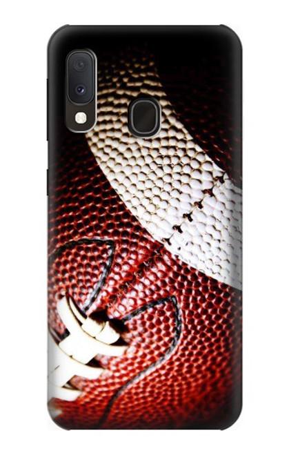 S0062 アメリカンフットボール American Football Samsung Galaxy A20e バックケース、フリップケース・カバー