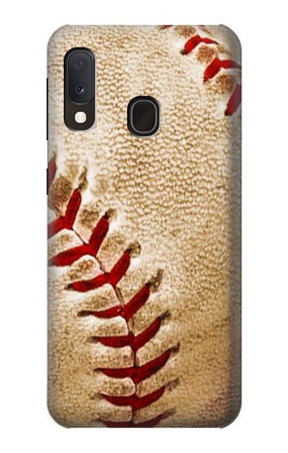 S0064 野球 ベースボール Baseball Samsung Galaxy A20e バックケース、フリップケース・カバー