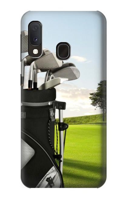 S0067 ゴルフ Golf Samsung Galaxy A20e バックケース、フリップケース・カバー