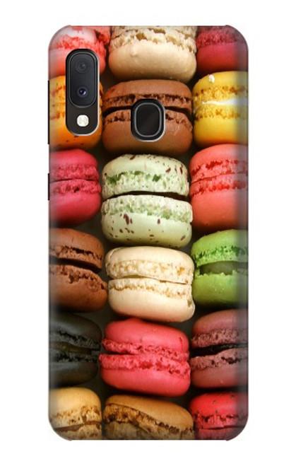 S0080 マカロン Macarons Samsung Galaxy A20e バックケース、フリップケース・カバー