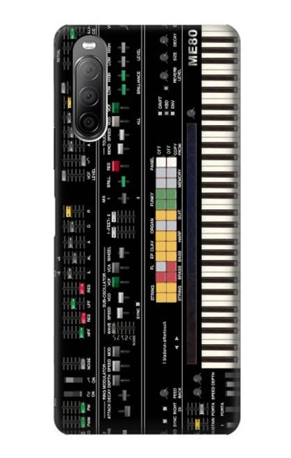S0061 シンセサイザー Synthesizer Sony Xperia 10 II バックケース、フリップケース・カバー