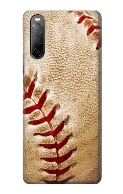 S0064 野球 ベースボール Baseball Sony Xperia 10 II バックケース、フリップケース・カバー