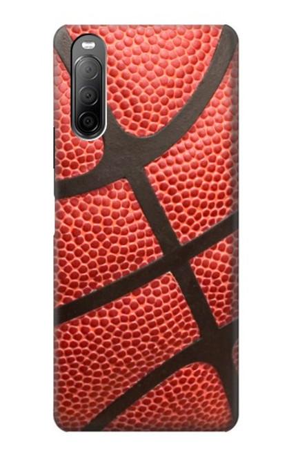 S0065 バスケットボール Basketball Sony Xperia 10 II バックケース、フリップケース・カバー