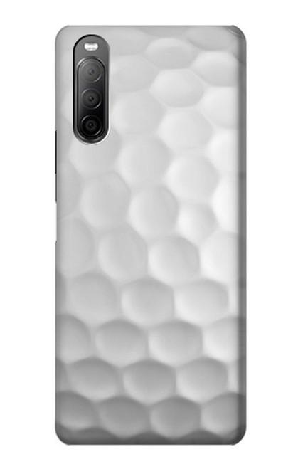 S0071 ゴルフボール Golf Ball Sony Xperia 10 II バックケース、フリップケース・カバー
