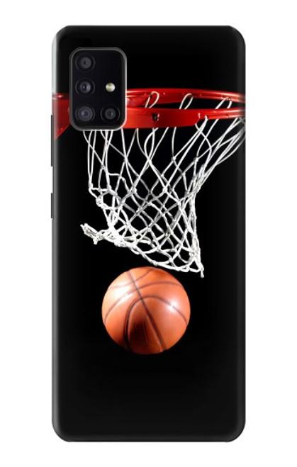 S0066 バスケットボール Basketball Samsung Galaxy A41 バックケース、フリップケース・カバー