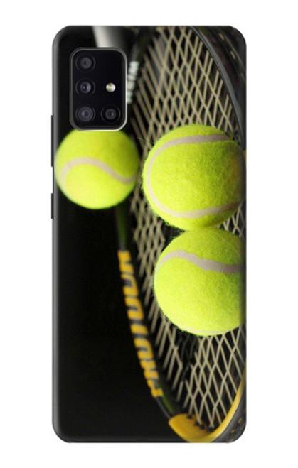 S0072 テニス Tennis Samsung Galaxy A41 バックケース、フリップケース・カバー