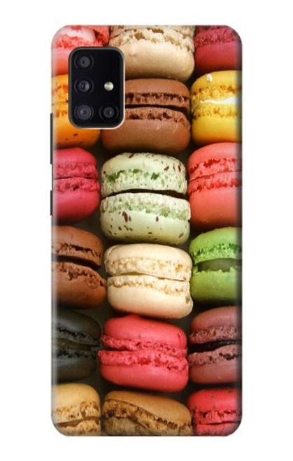 S0080 マカロン Macarons Samsung Galaxy A41 バックケース、フリップケース・カバー