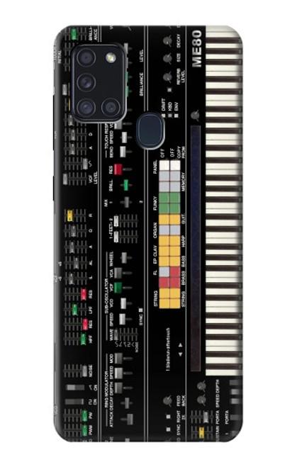 S0061 シンセサイザー Synthesizer Samsung Galaxy A21s バックケース、フリップケース・カバー