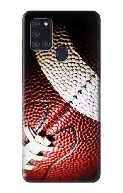 S0062 アメリカンフットボール American Football Samsung Galaxy A21s バックケース、フリップケース・カバー