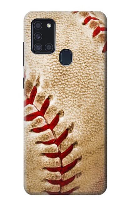S0064 野球 ベースボール Baseball Samsung Galaxy A21s バックケース、フリップケース・カバー