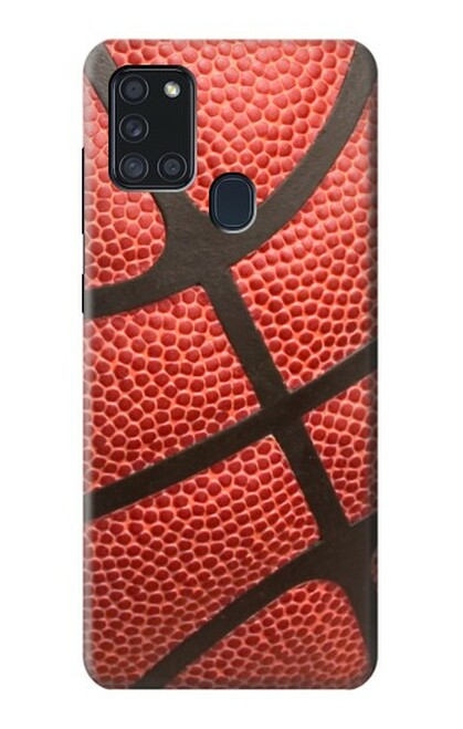 S0065 バスケットボール Basketball Samsung Galaxy A21s バックケース、フリップケース・カバー