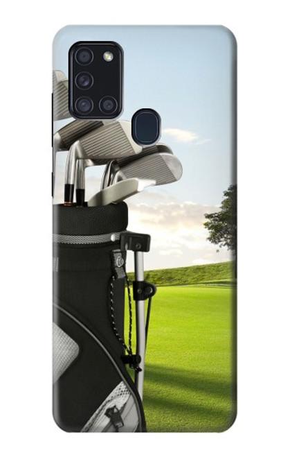 S0067 ゴルフ Golf Samsung Galaxy A21s バックケース、フリップケース・カバー