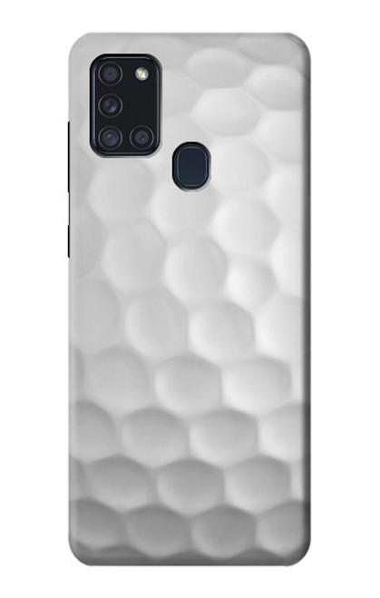 S0071 ゴルフボール Golf Ball Samsung Galaxy A21s バックケース、フリップケース・カバー