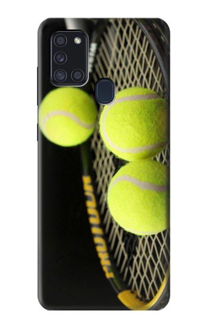 S0072 テニス Tennis Samsung Galaxy A21s バックケース、フリップケース・カバー