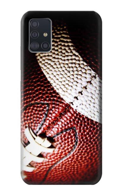 S0062 アメリカンフットボール American Football Samsung Galaxy A51 5G バックケース、フリップケース・カバー
