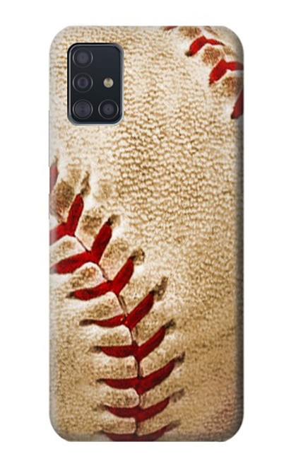 S0064 野球 ベースボール Baseball Samsung Galaxy A51 5G バックケース、フリップケース・カバー