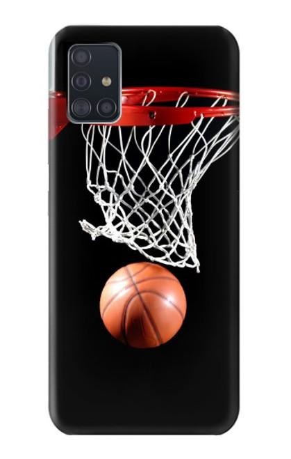 S0066 バスケットボール Basketball Samsung Galaxy A51 5G バックケース、フリップケース・カバー