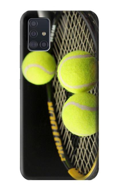 S0072 テニス Tennis Samsung Galaxy A51 5G バックケース、フリップケース・カバー