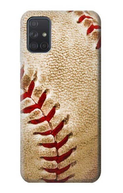 S0064 野球 ベースボール Baseball Samsung Galaxy A71 5G バックケース、フリップケース・カバー