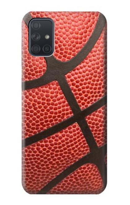 S0065 バスケットボール Basketball Samsung Galaxy A71 5G バックケース、フリップケース・カバー