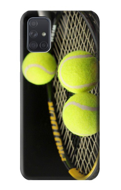 S0072 テニス Tennis Samsung Galaxy A71 5G バックケース、フリップケース・カバー
