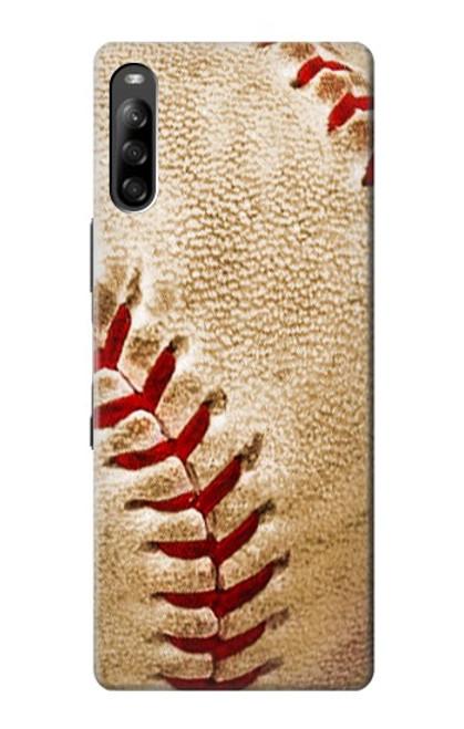 S0064 野球 ベースボール Baseball Sony Xperia L4 バックケース、フリップケース・カバー