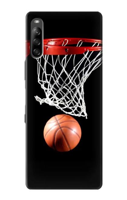 S0066 バスケットボール Basketball Sony Xperia L4 バックケース、フリップケース・カバー