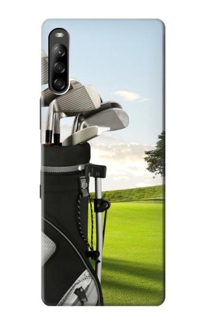 S0067 ゴルフ Golf Sony Xperia L4 バックケース、フリップケース・カバー
