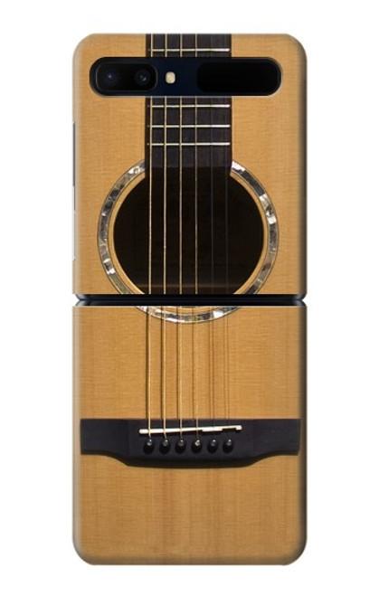 S0057 アコースティックギター Acoustic Guitar Samsung Galaxy Z Flip 5G バックケース、フリップケース・カバー