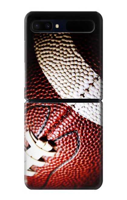 S0062 アメリカンフットボール American Football Samsung Galaxy Z Flip 5G バックケース、フリップケース・カバー