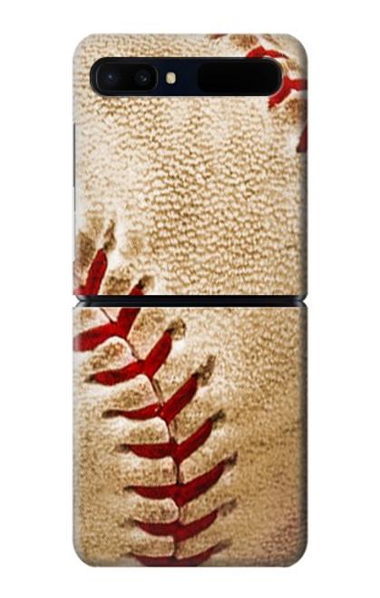 S0064 野球 ベースボール Baseball Samsung Galaxy Z Flip 5G バックケース、フリップケース・カバー