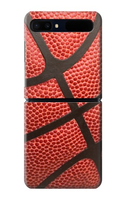 S0065 バスケットボール Basketball Samsung Galaxy Z Flip 5G バックケース、フリップケース・カバー