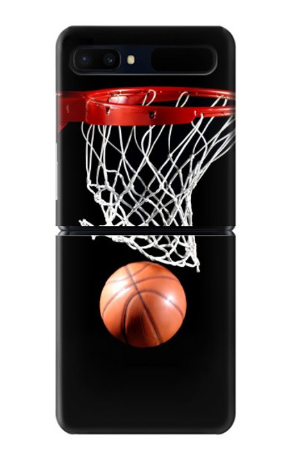 S0066 バスケットボール Basketball Samsung Galaxy Z Flip 5G バックケース、フリップケース・カバー