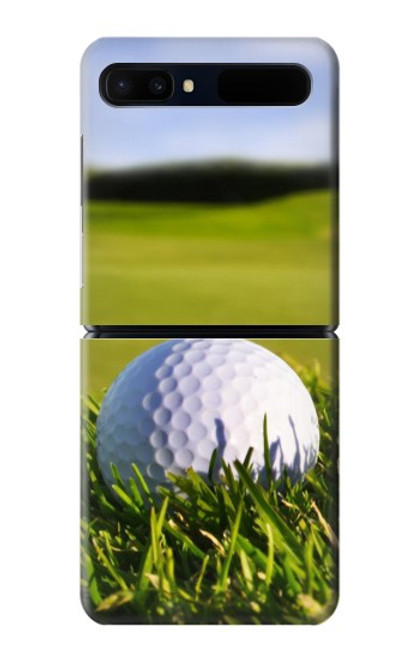 S0068 ゴルフ Golf Samsung Galaxy Z Flip 5G バックケース、フリップケース・カバー