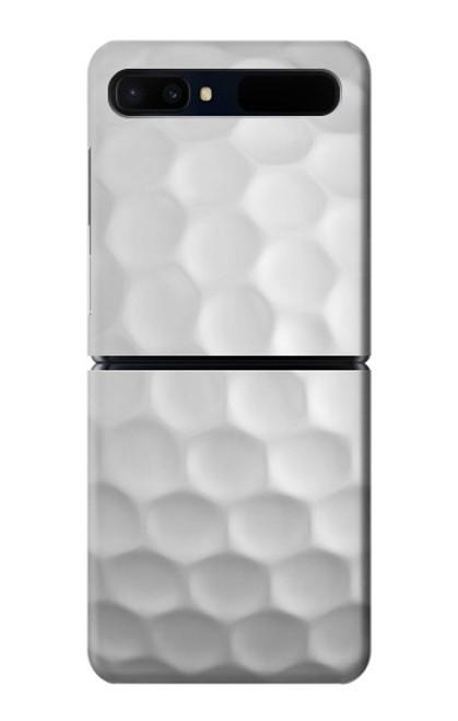 S0071 ゴルフボール Golf Ball Samsung Galaxy Z Flip 5G バックケース、フリップケース・カバー