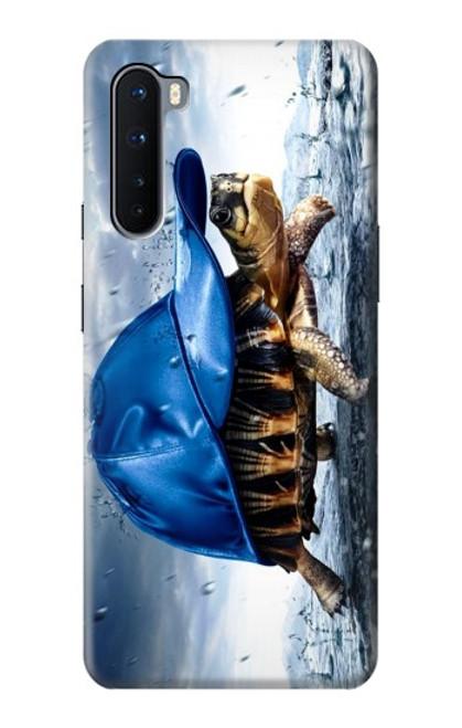 S0084 雨でかめ Turtle in the Rain OnePlus Nord バックケース、フリップケース・カバー