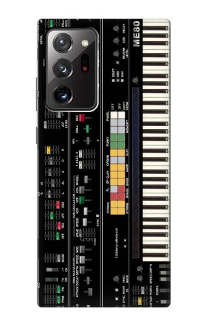 S0061 シンセサイザー Synthesizer Samsung Galaxy Note 20 Ultra, Ultra 5G バックケース、フリップケース・カバー