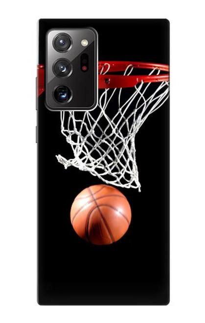 S0066 バスケットボール Basketball Samsung Galaxy Note 20 Ultra, Ultra 5G バックケース、フリップケース・カバー
