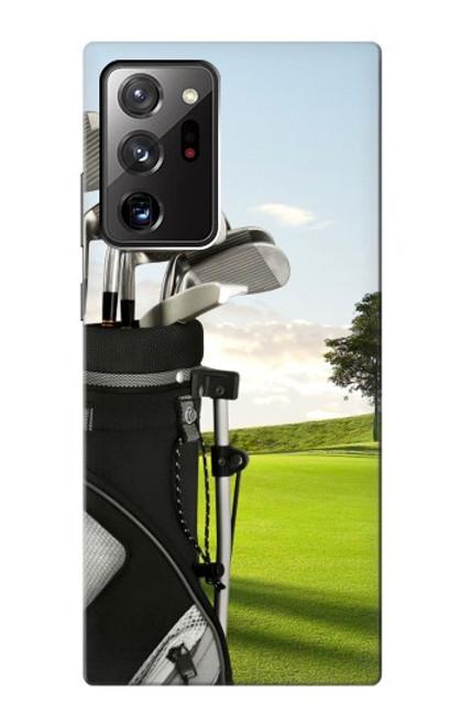 S0067 ゴルフ Golf Samsung Galaxy Note 20 Ultra, Ultra 5G バックケース、フリップケース・カバー