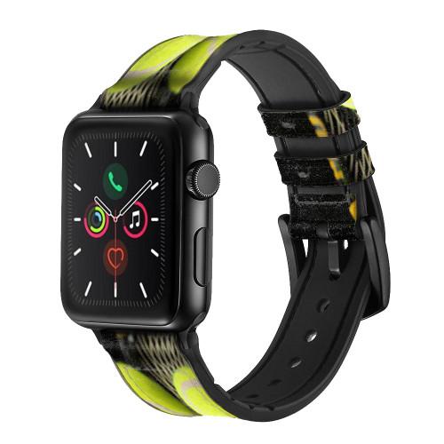 CA0008 テニス Tennis レザーシリコンApple Watchバンド アップルウォッチ バンド