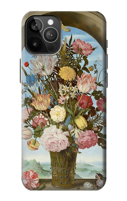 S3749 花瓶 Vase of Flowers iPhone 12 Pro Max バックケース、フリップケース・カバー