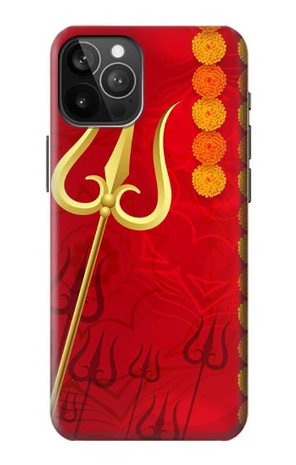 S3788 シブトリシューラ Shiv Trishul iPhone 12 Pro Max バックケース、フリップケース・カバー