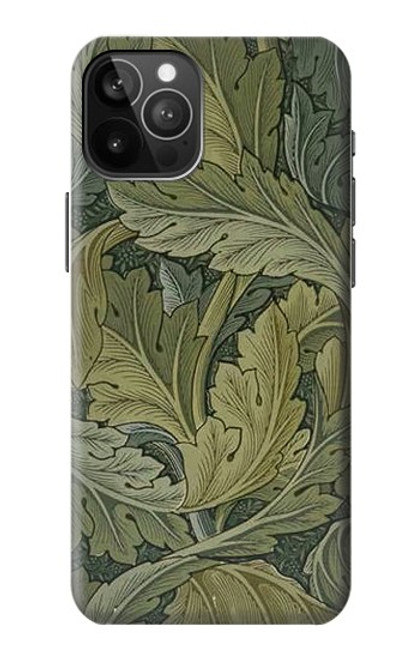 S3790 ウィリアムモリスアカンサスの葉 William Morris Acanthus Leaves iPhone 12 Pro Max バックケース、フリップケース・カバー