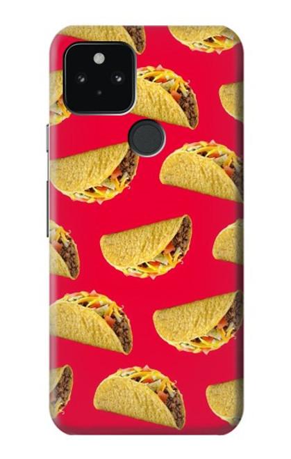 S3755 メキシコのタコスタコス Mexican Taco Tacos Google Pixel 5 バックケース、フリップケース・カバー