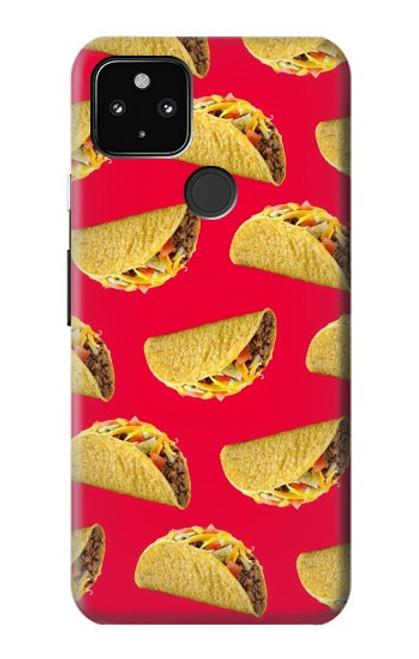 S3755 メキシコのタコスタコス Mexican Taco Tacos Google Pixel 4a 5G バックケース、フリップケース・カバー